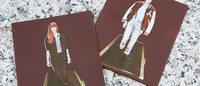 チョコで作った食べられるファッション写真「ジースター ロゥ」が提供