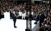 Macron reçoit les pépites du numérique et retourne à Station F
