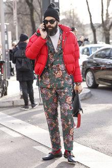 Street Fashion Milan N265
