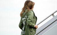'I really don't care': Melania Trump's Zara jacket stuns on migrant visit