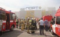 Для ликвидации пожара в казанском ТЦ понадобилось 7 часов