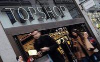 Topshop ersten eigenen Laden im Kaufhof Berlin