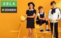 Sela и Zenden вместе собирают детей в школу