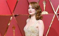 Oscars : le tout Hollywood a porté l'or, le rouge et le noir