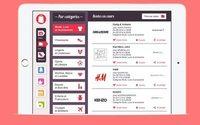 L'application Mes Ventes Flash répertorie l'ensemble des ventes privées