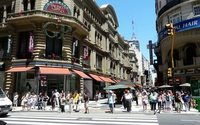 Aumenta la cantidad de locales comerciales inactivos en la capital argentina