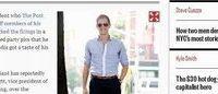 J Crew licenzia Alejandro Rhett, il manager che scherzava sui lavoratori in esubero