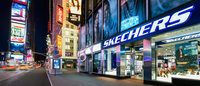 Skechers opens second store in NYC's Times Square