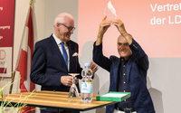 LDT Nagold ehrt Werner Böck