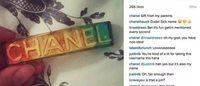 Instagram账号掌控权之争 Chanel封杀一女性Instagram账号