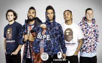 BAPE teams up with Paris Saint-Germain on capsule collection