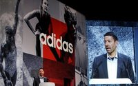 Adidas CEO says sales grew 15-20 pct in 2017