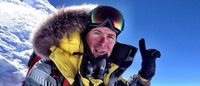 Under Armour's Nick Cienski will attempt to climb the world's highest mountains