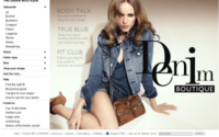 Net-a-porter launcht Denim Store
