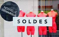 En février, le prolongement des soldes n'a pas enrayé la chute des enseignes de mode