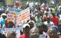 Haïti : les ouvriers du textile manifestent pour un meilleur salaire