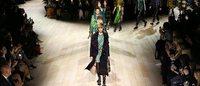 LFW: Burberry tra glamour e modernità