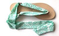 Nupié, des sandales aux liens interchangeables et aux couleurs du monde