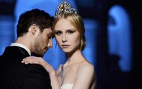 Donatella Versace creates Swarovski tiara for Vienna Opera Ball