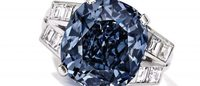 Shirley Temple blue diamond ring fails to sell at auction