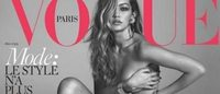 Gigi Hadid nuda sulla cover di 'Vogue Paris'