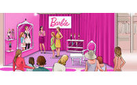 Le dressing virtuel de Barbie s'installe aux Galeries Lafayette