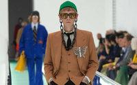 Gucci'den Milano Giyim Moda Haftası'nda Erkek Giyim Defilesi