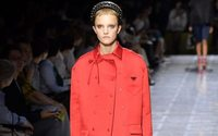 'Living Coral' as seen on the catwalk