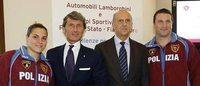 Lamborghini firma la nuova divisa delle Fiamme Oro