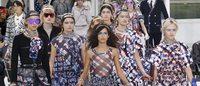 Estamparia marca forte presença nos desfiles de Milão e Paris