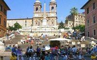 Rome : financé par Bulgari, l'escalier de la Trinité des Monts restauré rouvre vendredi