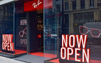 Ray-Ban s'offre un premier magasin à Paris