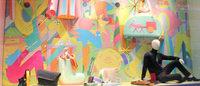 """エルメス伊勢丹新宿店リニューアル、ウィンドウは""""ネオ""""漫画家の横山裕一"""
