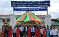 Olymp fördert Behindertenheim in Vietnam mit 100.000,00 Dollar