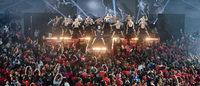 Reebok s'offre une séance géante de fitness au Grand Palais