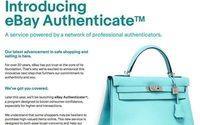 Ebay Authenticate prüft Echtheit von Markenprodukten