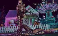 Fergie models for Philipp Plein campaign