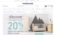 Mothercare unveils revamped website