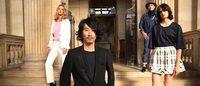 Un styliste japonais défile au palais de justice de Paris pour obtenir des papiers