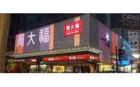 Hong Kong retail sales fall for 8th consecutive month