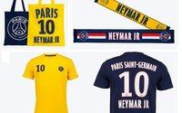Le PSG sort une collection textile dédiée à Neymar