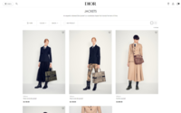 Dior unveils new website