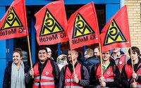 IG Metall droht Textilindustrie mit weiteren Warnstreiks