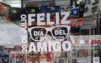 Caen las ventas en el día del amigo en Argentina