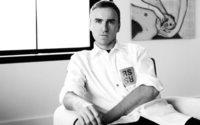 Raf Simons approda ufficialmente da Calvin Klein