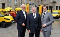 Post startet in Bochum Paketzustellung mit Elektroautos