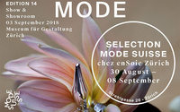 Mode Suisse Edition 14 in Zürich, Genf und Paris
