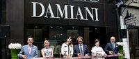 ダミアーニがアジア事業に積極投資 タワー型旗艦店を銀座中央通りにオープン