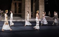 Chanel walks like an Egyptian in New York