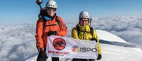 Rolf Schmid und Klaus Dittrich wagen Montblanc-Besteigung